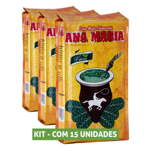 Kit Erva Mate Ana Maria Vácuo