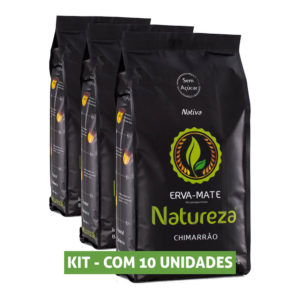 Kit Erva Mate Natureza